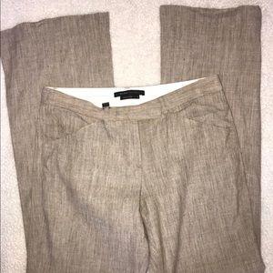 BCBGMaxAzria Pants - BCBG MAXAZRIA Linen Christian Wrap Jacket & Pants